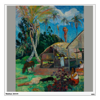 Black Pigs Paul Gauguin Wall Sticker