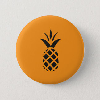 Black Pine Apple in Brown Button