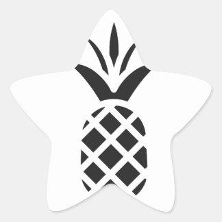 Black Pine Apple Star Sticker