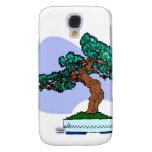 Black Pine Bonsai Graphic Image Samsung Galaxy S4 Cover