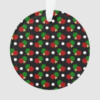 Black ping pong pattern