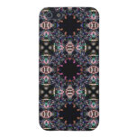 Black Pink and Green Mandala Fractal Pattern iPhone 5 Case