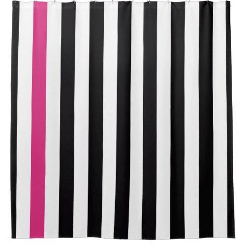 unique horizontal striped shower curtains