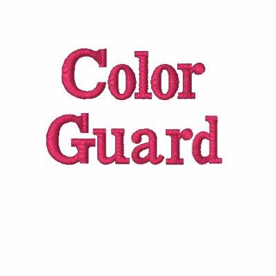 Black/Pink Color Guard Hoodie