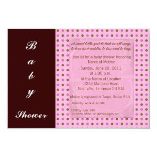 Black/Pink Invitation