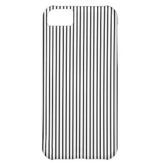 Black Pinstripe iPhone Case
