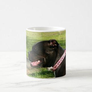Black Pit Bull mug
