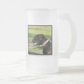 Black Pitbull Mug
