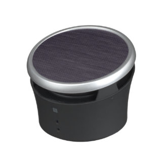 Black Plaid Pattern Bluetooth Speaker