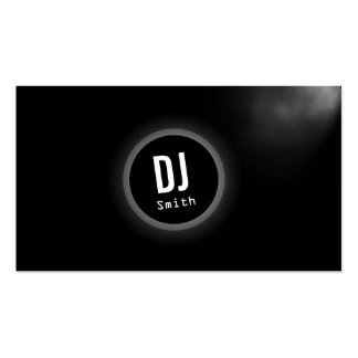 Black Planet DJ Music Business Card