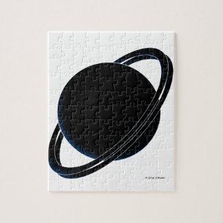 Black Planet Jigsaw Puzzle