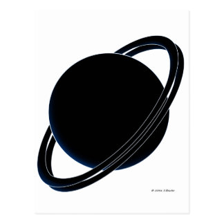 Black Planet Postcard