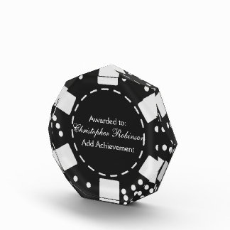 Black Poker Chip Award