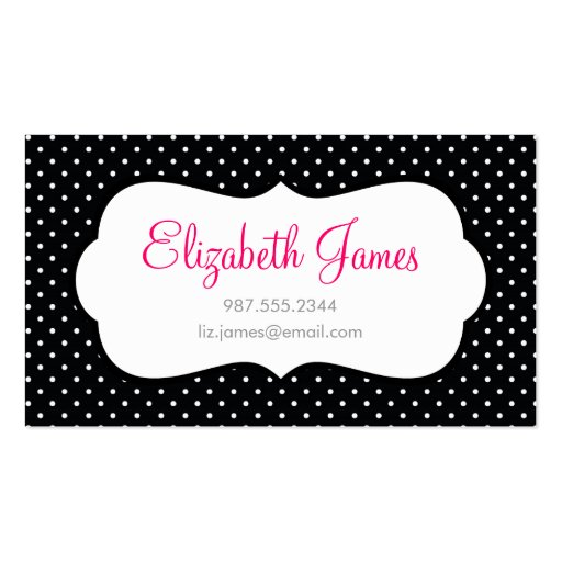 Polka dot business card templates free 28 images 1000 images polka dot business card templates free by black polka dot business card zazzle friedricerecipe Images