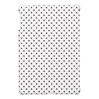 Black Polka Dot Hard Plastic iPad MIni Case