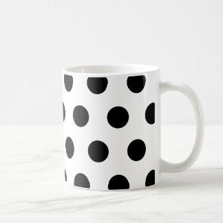 Black Polka Dot Mug