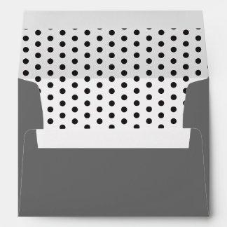 Black Polka Dots! Envelopes