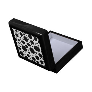 Black Polka Dots - Gift box