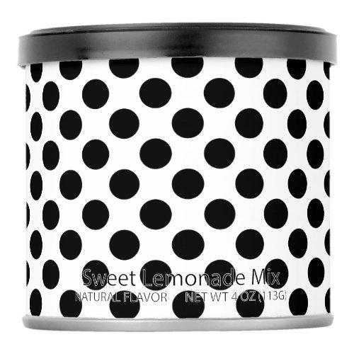 Black Polka Dots Lemonade Drink Mix