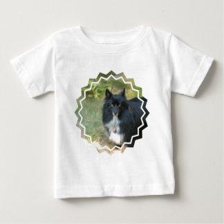 Black Pomeranian  Baby T-Shirt