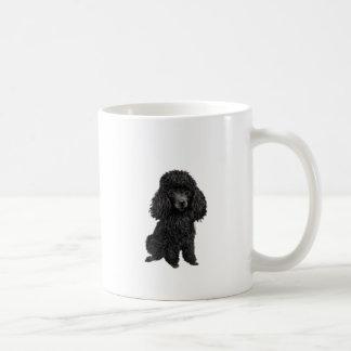 Black Poodle (#3) Coffee Mug