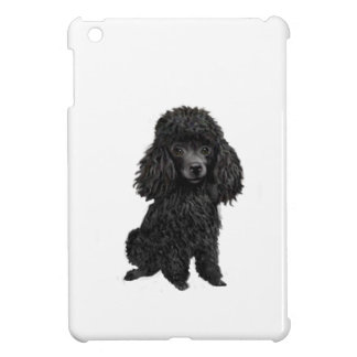 Black Poodle (#3) iPad Mini Covers