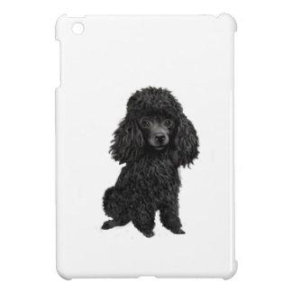 Black Poodle (#3) iPad Mini Covers