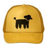 Black Poodle Dog Graphic Trucker Hat