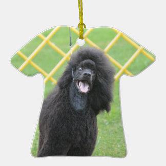Black Poodle Ornaments