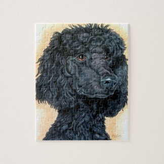 Black Poodle Puzzles