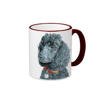 Black Poodle Whitney Mug
