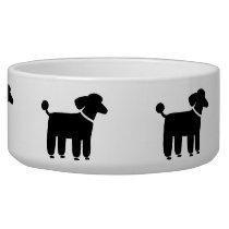 Black Poodles Bowl