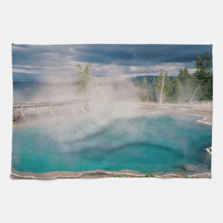 Black Pool Hand Towels