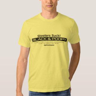 Black & Poopy Steeler Nation T-Shirt