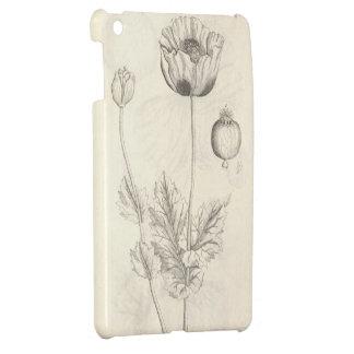 Black Poppy Case For The iPad Mini