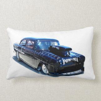 Black POW Classic car American Mojo Lumbar Pillow