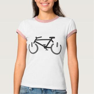 Black Power Bike with White Rims T-Shirt
