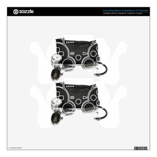 Black professional blood pressure monitor on white PS3 controller skin