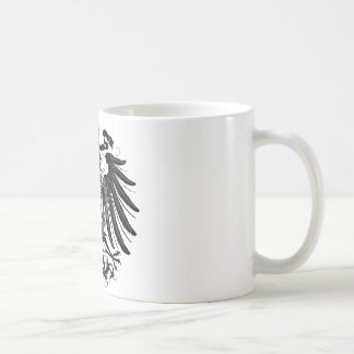 Black Prussian Eagle Coffee Mug