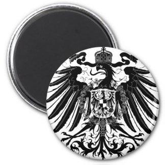 Black Prussian Eagle Magnet