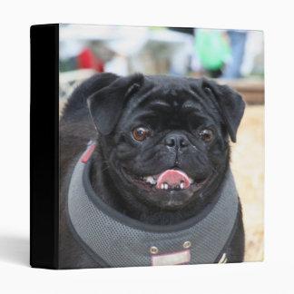 Black pug binder