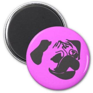 Black Pug Magnet