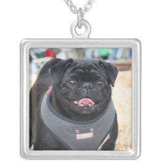 Black Pug necklace