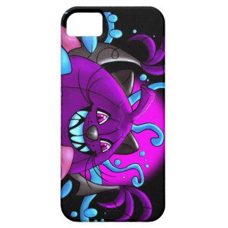 BLACK PURPLE PUMPKIN MONSTER iPhone SE iPhone SE/5/5s Case