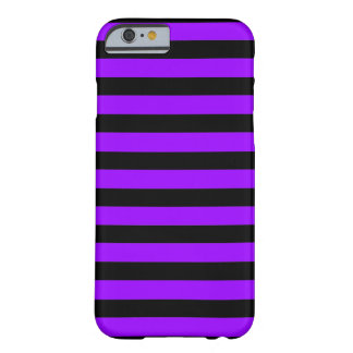 Black Purple Stripes horizontal iPhone 6 case