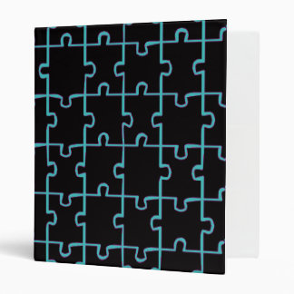 Black Puzzle Binder