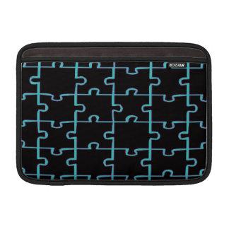 Black Puzzle Sleeves For MacBook Air