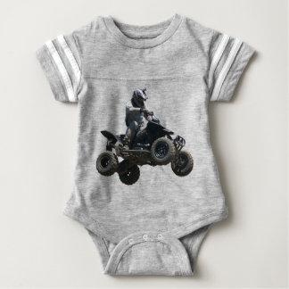 Black Quad Baby Bodysuit