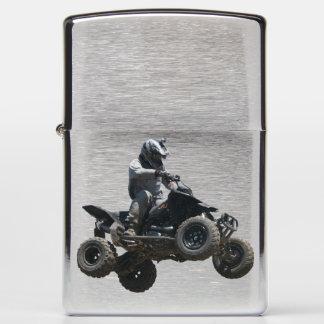 Black Quad Zippo Lighter