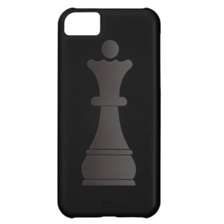 Black queen chess piece cover for iPhone 5C